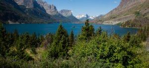Image of lake kalispell montana with sue thompson
