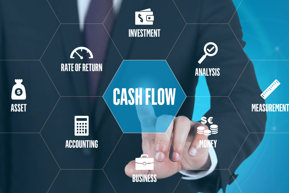 CASH FLOW TECHNOLOGY COMMUNICATION TOUCHSCREEN FUTURISTIC CONCEP